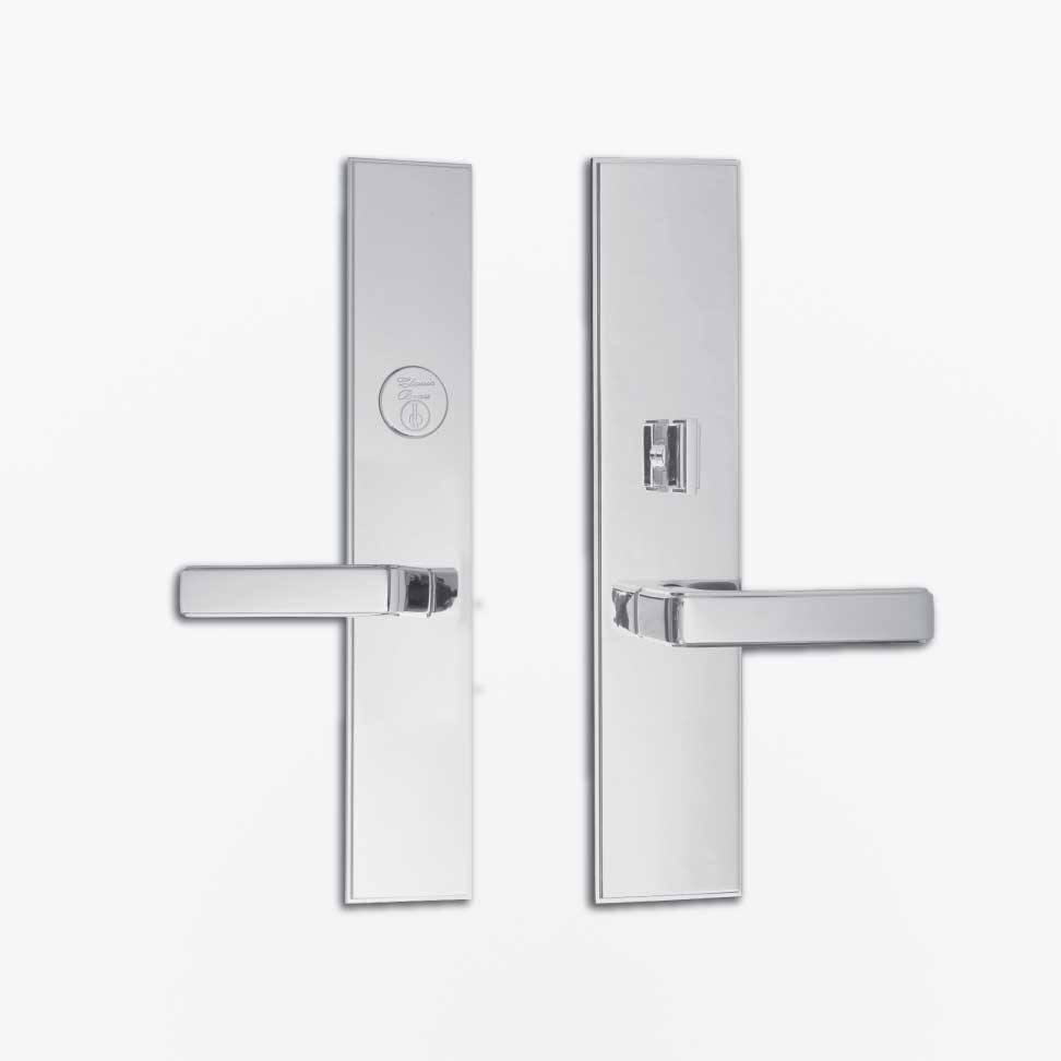 7616 Fifth Avenue Entrance Lever Set