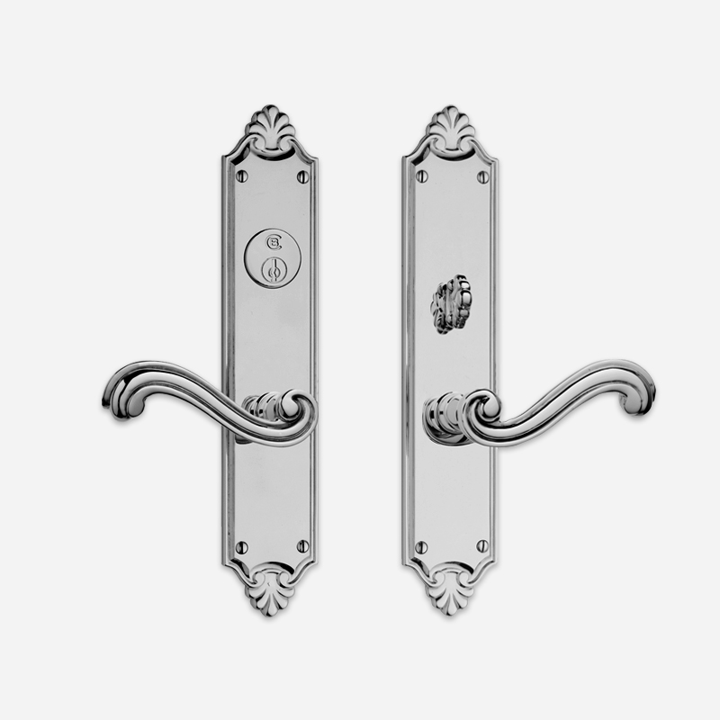 8220 Savannah Entrance Lever Set