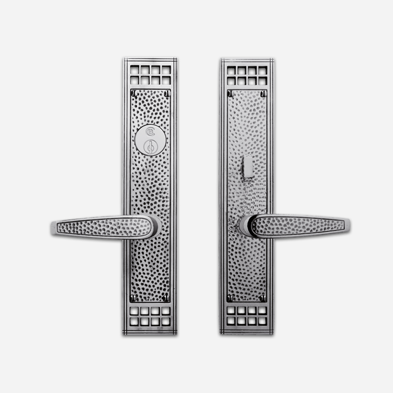 8620 Arts & Crafts Entrance Lever Set